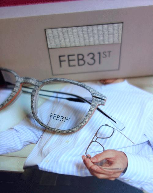 FEB31 lunettes en bois