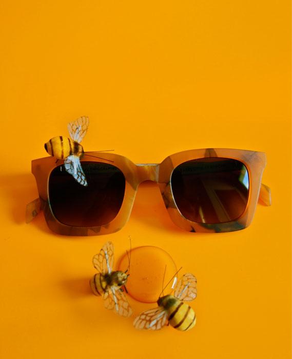 lunettes bois rezin