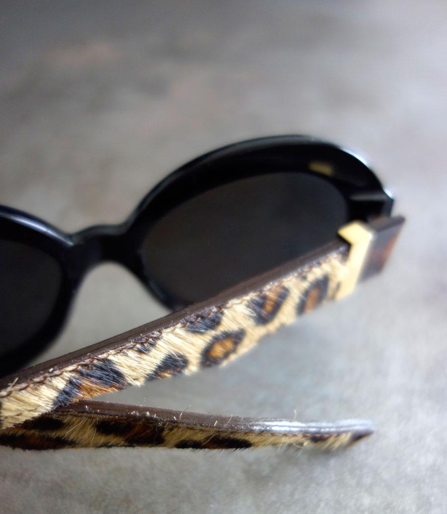Lunettes cuir léopard Histoire de voir