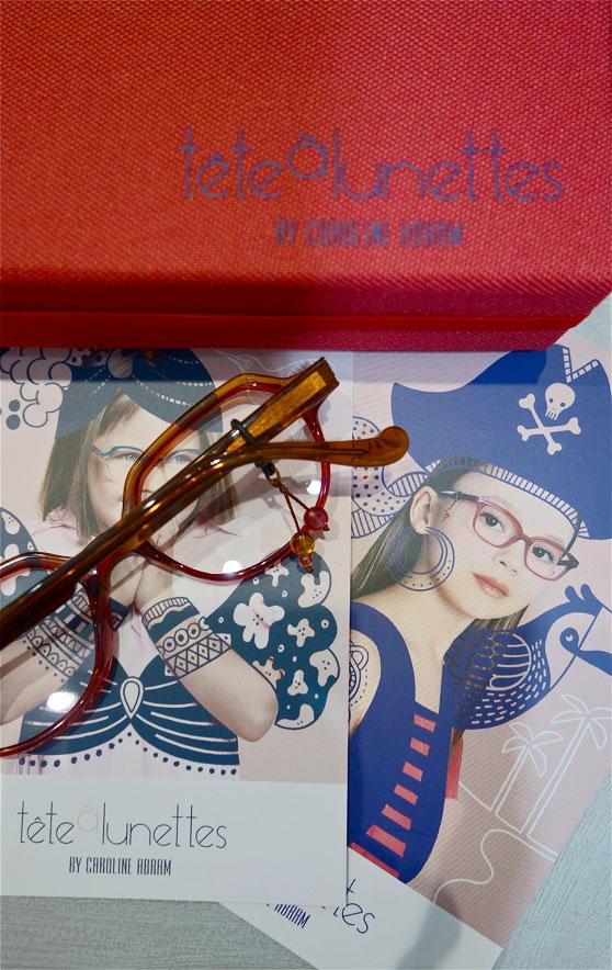 lunettes pour enfants Tête à lunettes