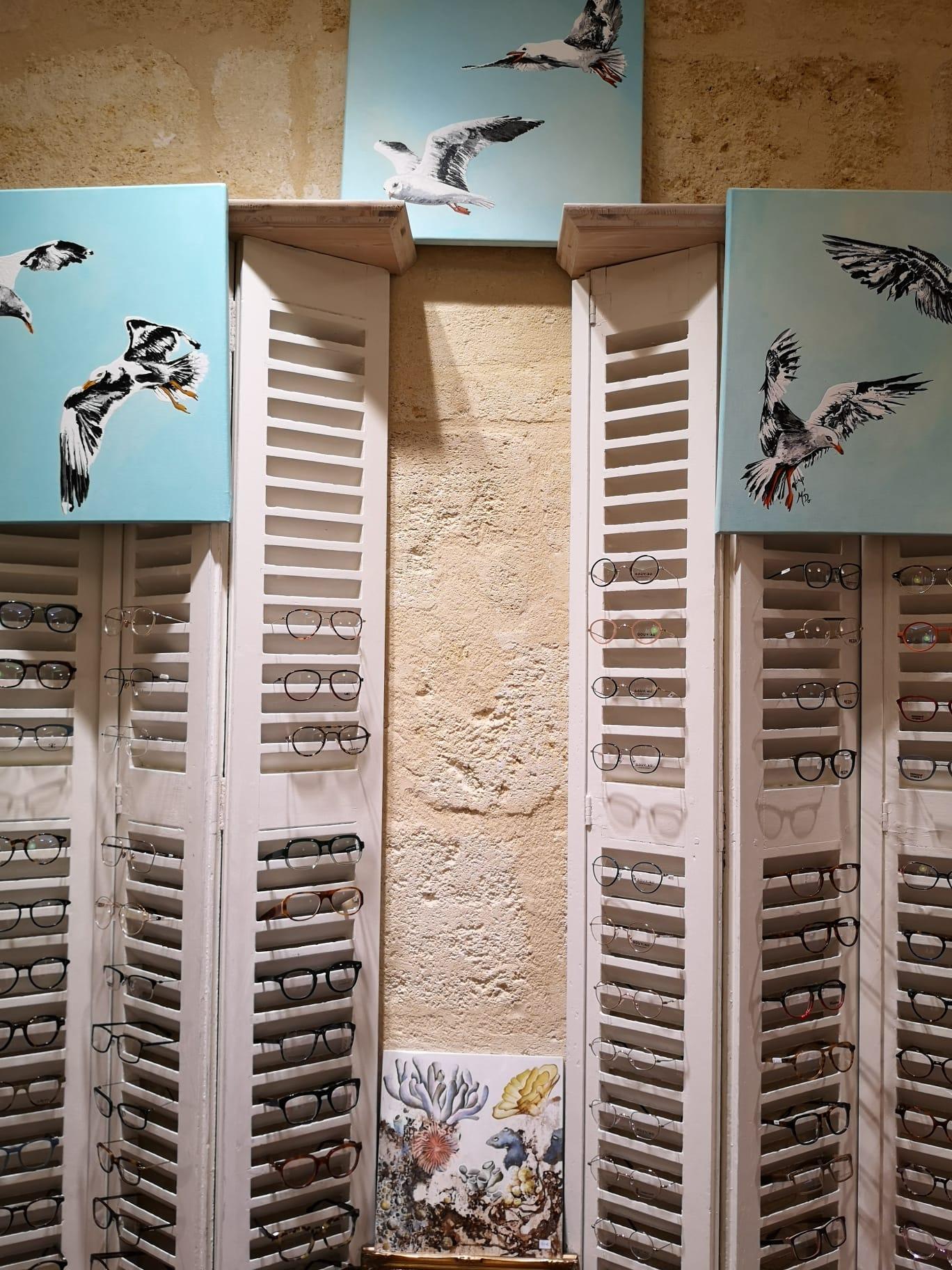 Exposition M'Do Pomparat à Bordeaux chez Vue des Remparts