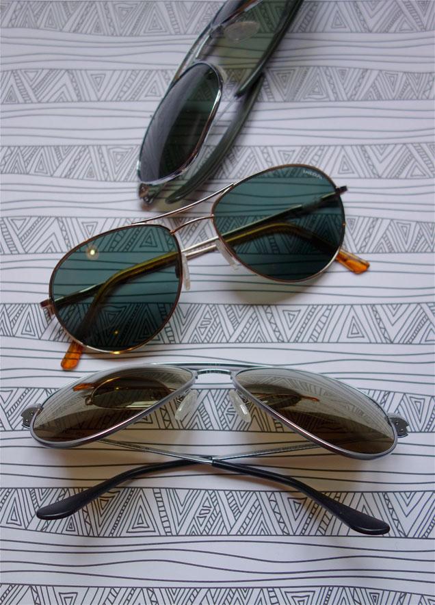 lunettes aviateur américaines Randolph